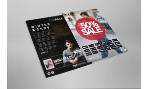A6 full colour Flyers
