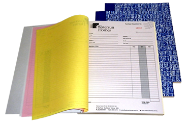 A5 NCR Carbonless Books Duplicate and Triplicate