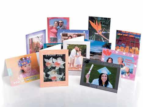 A6 Greeting Cards (A5 cards scored)